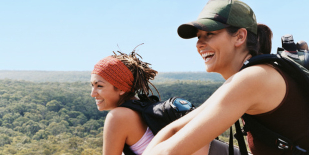 Getting active outdoors is good the mind, body and soul.Photo / Thinkstock