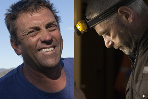 New Zealanders Jonathon Beauchamp and David John Haussmann were part of the ship's crew