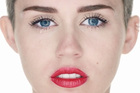 Miley Cyrus in the video for Wrecking Ball.