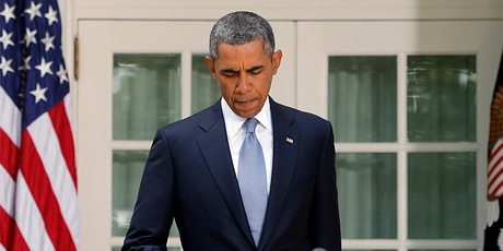 US President Barack Obama delivering an address about potential military action in Syria. Photo / AP