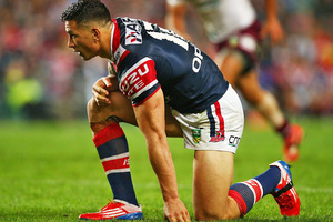 Sonny Bill Williams and the Roosters face Newcastle on Saturday. Photo / Getty Images