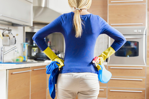 Women are most likely to take on housework tasks, even if the female is the sole breadwinner in the household. Photo / Thinkstock