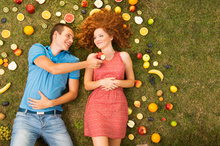 Eating more fruit and vegetables may make young people calmer, happier and more energetic. Photo / Thinkstock