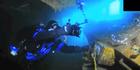 View: Divers survey Rena wreckage