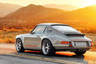 The Porsche look alike has been built by Los Angeles based Singer vehicle Design, based on a 964 donor car.
