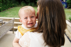 Would you be offended by a baby crying in a cafe? Photo / Thinkstock