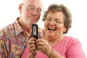 Older people are getting racy with their cellphones.Photo / Thinkstock