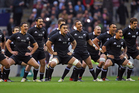 Piri Weepu leads the All Blacks haka in a game against England at Twickenham and reinforces the brand to an international audience. Photo / Getty Images