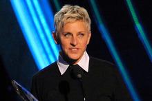 Ellen Degeneres is flying a lucky Australian fan to Los Angeles. Photo / AP