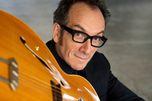 Elvis Costello played a two-hour set that spanned his entire career.  Photo / Supplied