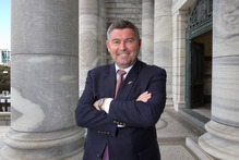 NZ First MP Andrew Williams was formerly Mayor of Auckland's North Shore City. Photo / Mark Mitchell