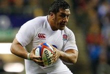 Mako Vunipola has many strings to his bow. Photo / Getty Images 