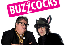 Comedians Phill Jupitus and Noel Fielding. Photo / Supplied
