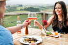 The food at Mahurangi River Winery is stylish and unpretentious. Photo / Mark Carter