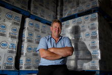 Ray Nicholls says the rebranding has put Ch'i mineral water