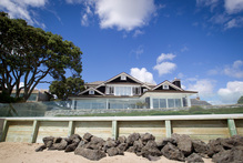 This Milford property was one of the highest selling property's in Auckland for 2012.  Photo / Richard Robinson