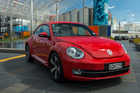 The 2013 Beetle's profile recalls the lines of its Porsche great-great uncles. Photos / Ted Baghurst