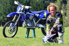 Mokau's Adrian Smith (Yamaha) has a tough assignment ahead to defend his national crown in 2013. Photo / Andy McGechan, BikesportNZ.com