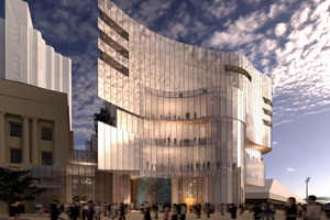 An artist's impression of the SkyCity  Adelaide casino development, which is aimed at attracting more high-rollers to the tables. Picture / Supplied