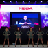 The launch of Kim Dotcom's new file-sharing service Mega. Photo / Richard Robinson