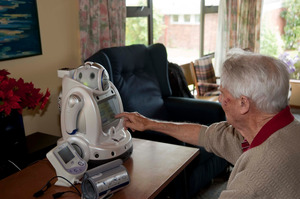 The healthcare robots were trialled at Selwyn Retirement Village.