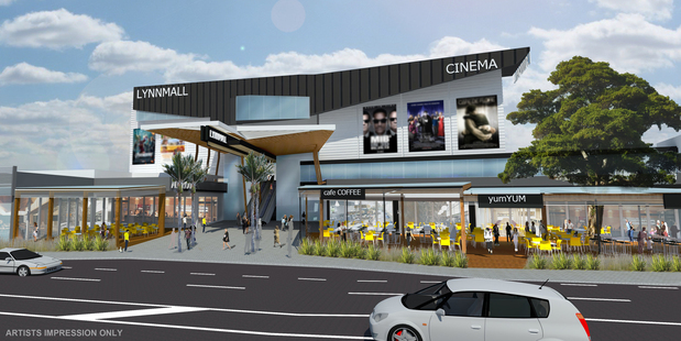 Kiwi Income's master plan for LynnMall includes an entertainment precinct and cinemas.