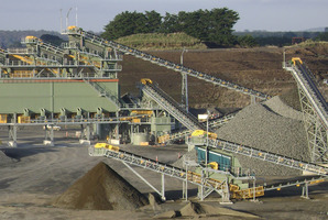 Rocktec builds include this crushing and screening plant in Victoria, Australia. Photo / Supplied