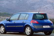 The Renault Megane 2003 had a strange shaped rear