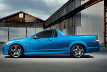 Holden's ute is being badged as a Chevy El Camino in the US. Photo / Supplied