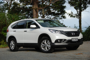 Honda CRV Sport is a practical buy. Photo / Jacqui Madelin