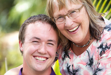 Tim Bennett and mother Sue each made a submission in support of the gay marriage bill at a hearing in Auckland yesterday. Photo / Richard Robinson