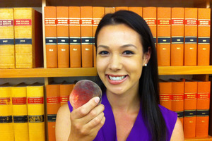 Caroline Wells says snacking on fruit makes her feel happier and healthier throughout the day. Photo / APNZ