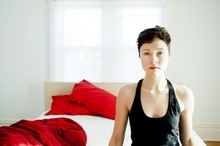 Polica singer Channy Leaneagh.  Photo / Supplied
