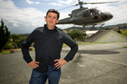 The CEO of Kim Dotcom's Mega venture, Tony Lentino, met the German entrepreneur at his home airstrip. Photo / Michael Craig