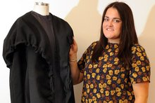 Emily Scott won the Australian Graduates Fashion Week contest in Sydney last November. Photo / Otago Daily Times