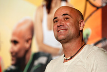 Andre Agassi will be at a book signing in Newmarket tomorrow. Photo / AP