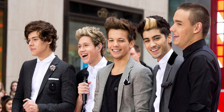 One Direction members, from left, Harry Styles, Niall Horan, Louis Tomlinson, Zayn Malik and Liam Payne.Photo / AP