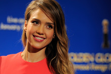 Jessica Alba has penned a book about wholesome parenting.Photo / AP