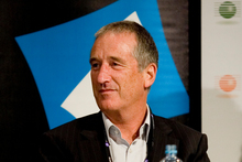 Geoff Hunt, Kordia chief executive, is leaving his post after eight years. Photo / NZ Herald
