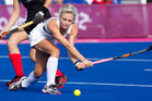 Charlotte Harrison in action during the London Olympics. Photo / Brett Phibbs