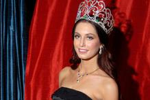 Miss World NZ Collette Lochore. Photo / Michael Craig