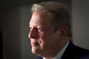 Al Gore. Photo / Richard Robinson