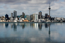 Auckland city's beautiful skyline. Photo / Greg Bowker