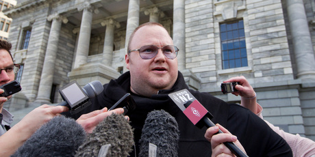 Internet billionaire Kim Dotcom. Photo / Mark Mitchell