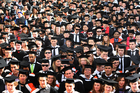 Masters graduates earn almost twice the national median wage. Photo / Mark Mitchell