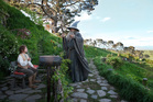 Bilbo Baggins' home in 'The Hobbit' is part of the Hobbiton Movie Set Tours. Photo / Supplied