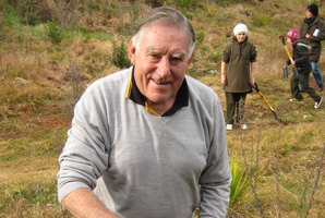 Sir Colin Meads said he had fun filming his cameo role in A Kiwi Legend. Photo / Supplied