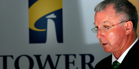 Rob Flannagan, head of Tower NZ, said he had nothing to announce regarding a sale of its life insurance business. Photo / Martin Sykes