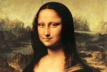 A laser image of the Mona Lisa was recently beamed to the Lunar Reconnaissance Orbiter. Photo / Supplied 