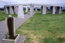 Stonehenge Aotearoa is fabulous if you're after a pagan monument with grand views and sunsets. Photo / Supplied